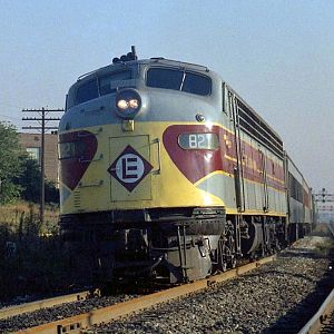 Erie-Lackawanna 821