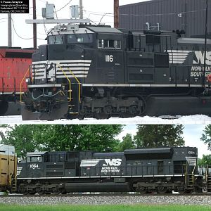 Norfolk Southern SD70ACes