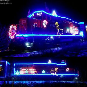 2015 CP Holiday train