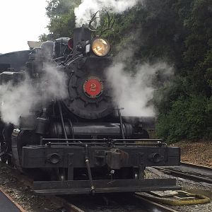 Double Steam Day On Niles Canyon Railway