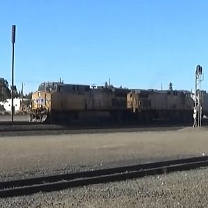 Union Pacific Train At Roseville