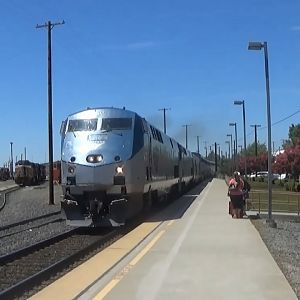 Amtrak California Zephyr At Roseville