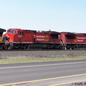 Northbound Oil Train