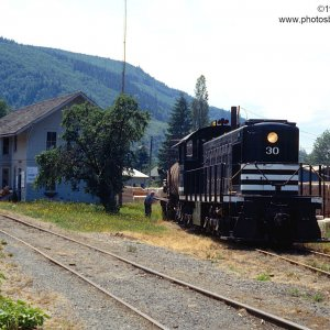MRSR Alco S1 30 at Morton, WA