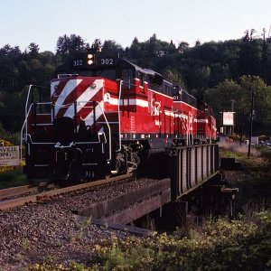 Spirit Of Washington Dinner Train's first revenue run at Woodinville, WA