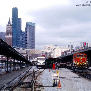 BNSF GP38-2 2259 in Seattle