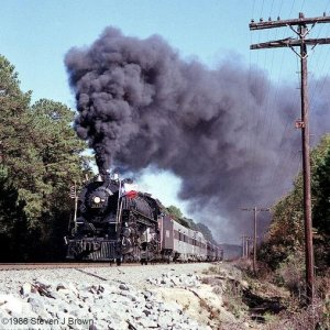 Cotton Belt 819 at Tyler, Texas