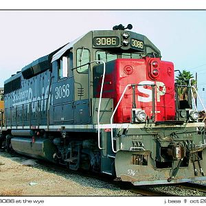 SP 3086  - -  Straight GP40