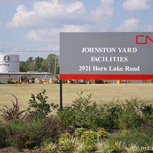 CN Johnston Yard or is it IC Johnston Yard ? - M.J. Scanlon