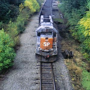 SD45 on the straight and narrow