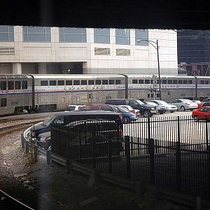 Empire Builder Leaving Chicago Union Station