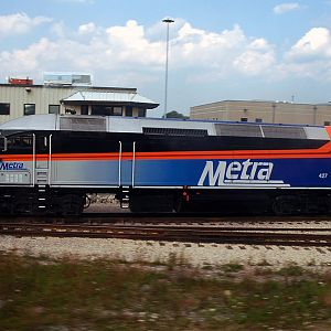 Metra - North of CUS