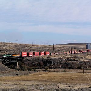 Stacks in the Eastern Washington Outback