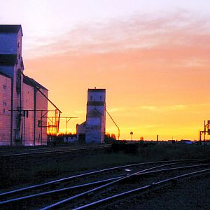 Sunrise - Indian Head Railyards -