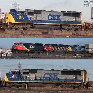 CSX guest on CN