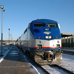 America's Train at msp