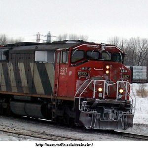 Winter on the CN
