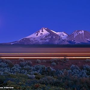 Mt. Shasta Moon Rise