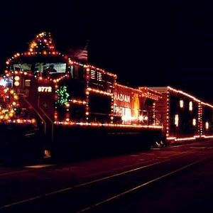 CP Rail Christmas Train