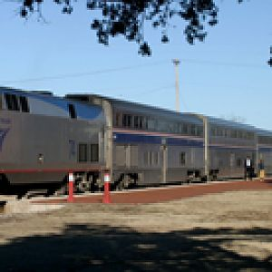 Heartland Flyer In Norman