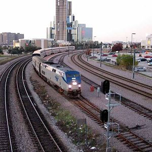 Amtrak at Dallas Union Station