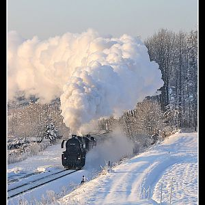 Icy Morning Steam