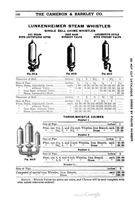 Cameron and Barkley Co Catalogue D 1911  whistles.jpg