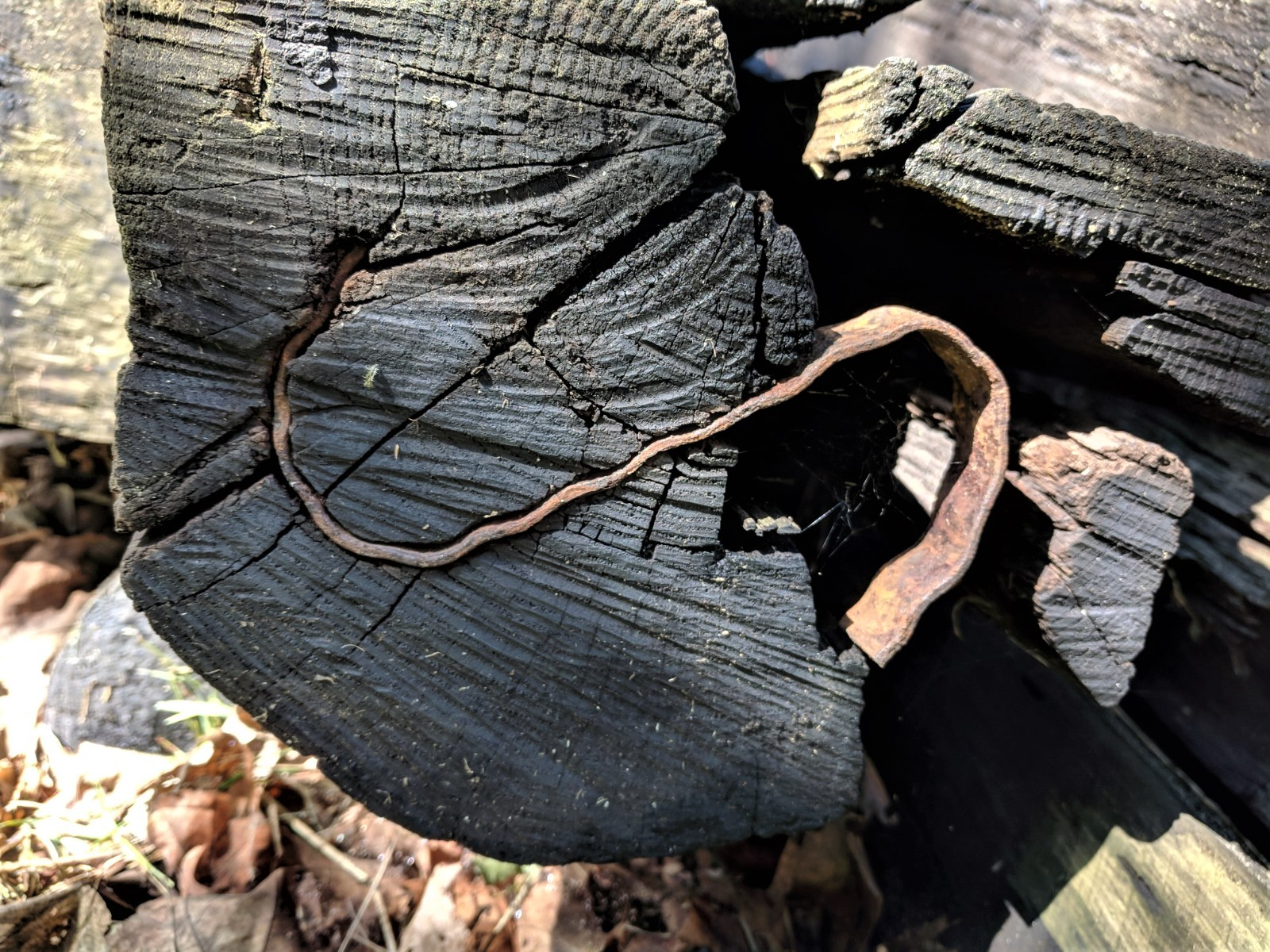 S Shaped Metal On Railroad Tie Ends Railroadforums Com Railroad Discussion Forum And Photo Gallery