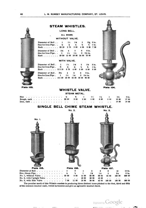 LM Rumsey Mfg Co Catalog  1897   whistles  #1.jpg