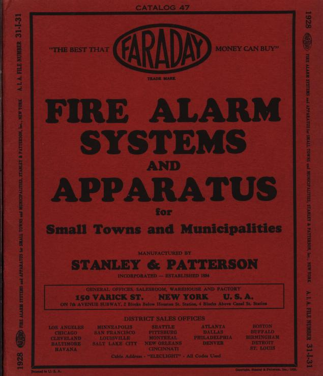 Stanley & Patterson 1930 Fire Alarm Systems     1.jpg