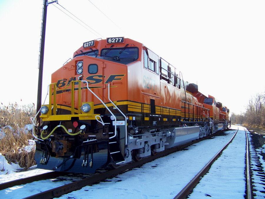 BNSF GE ES44AC number 6277 | RailroadForums com - Railroad