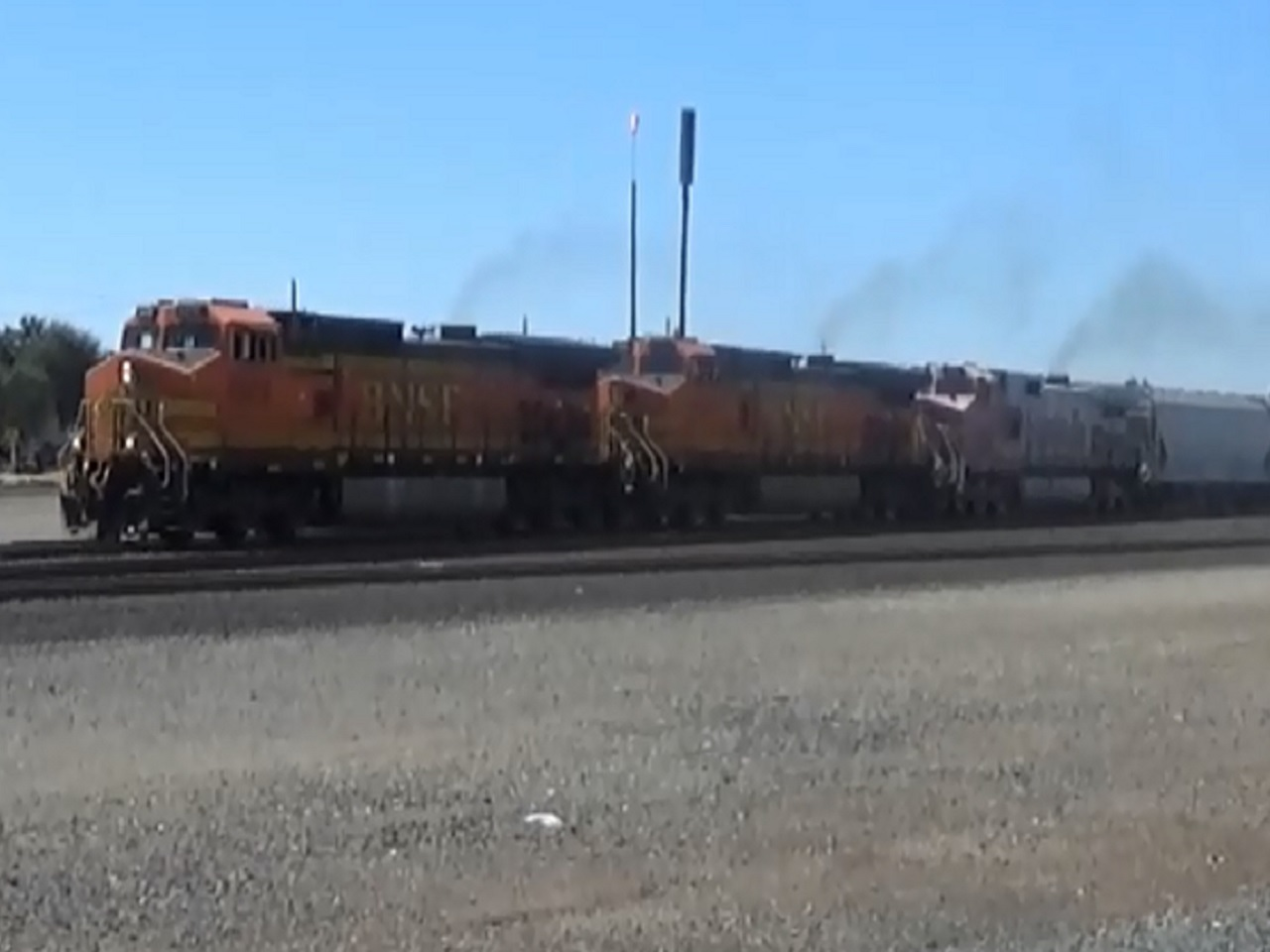 BNSF Trackage Rights Train At Roseville | RailroadForums com