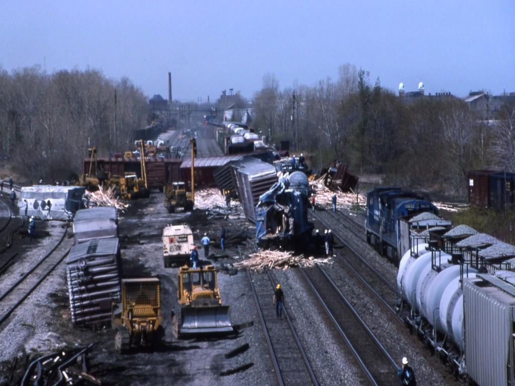 Conrail Derailment Erie Pa, May 1995