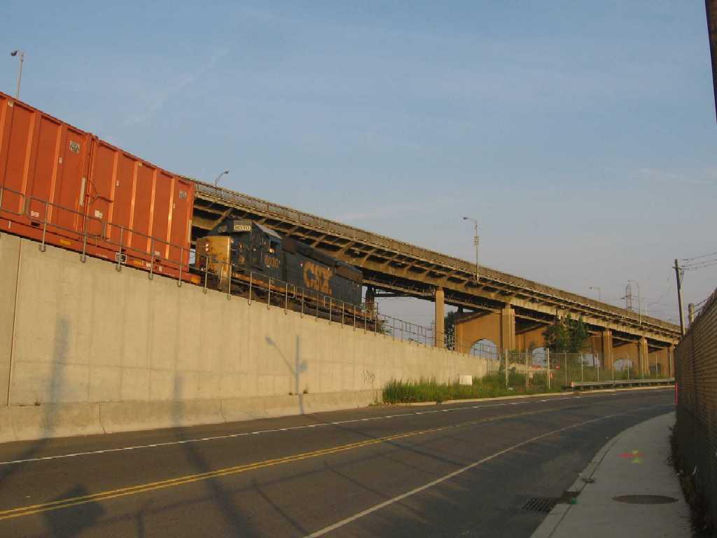 Garbage Train From Staten Island